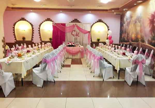 Свадьба в кафе ФЛАГМАН, центр Екатеринбурга
